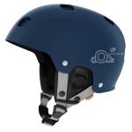 blå POC hjelm