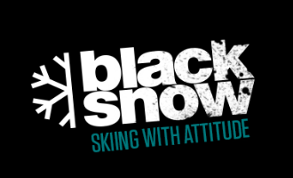 Black Snow snowboard-shop logo
